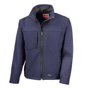 Ladies Soft Shell Jacket Navy L