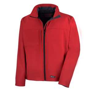 Ladies Soft Shell Jacket Red 2XL