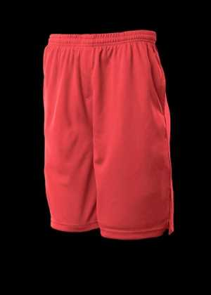 Mens Sports Shorts Red 2XL