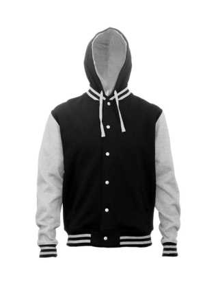 HLM Hooded Letterman