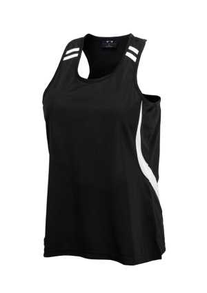 Ladies Flash Racer Back Singlet
