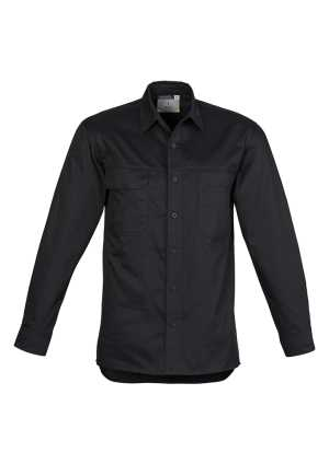 Light Weight Tradie Shirt - Long Sleeve