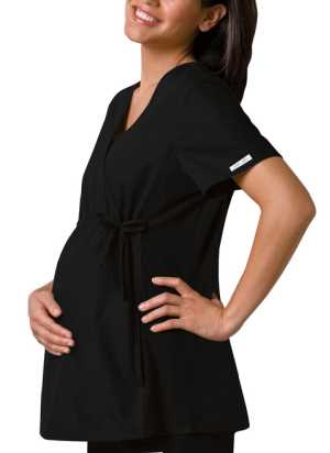 Maternity Wrap Scrubs Top