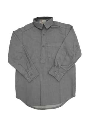 Boys Long Sleeve 1/2 Placket Shirt