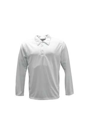 Cricket Polo Adult - Long Sleeve