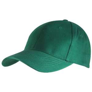 6 Panel Brushed Cotton Emerald 1SZ