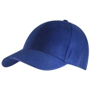 6 Panel Brushed Cotton Royal 1SZ