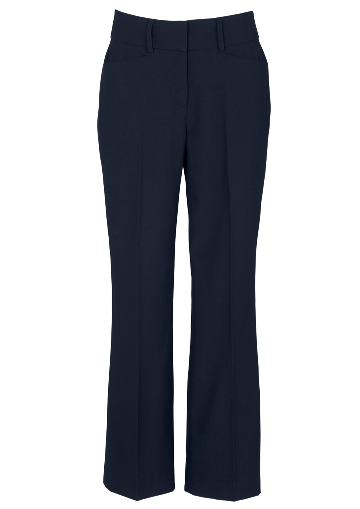 Ladies Classic Bootleg Pant Navy 10