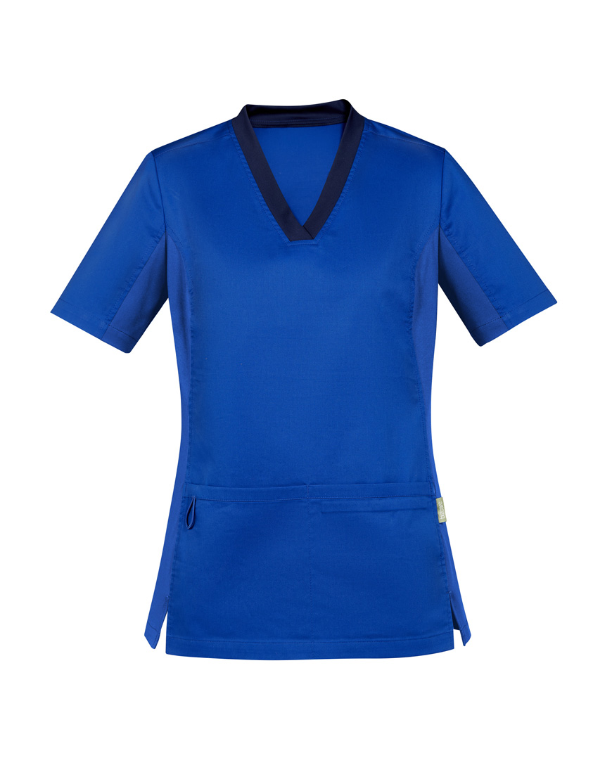 Womens Riley V-Neck Scrub Top