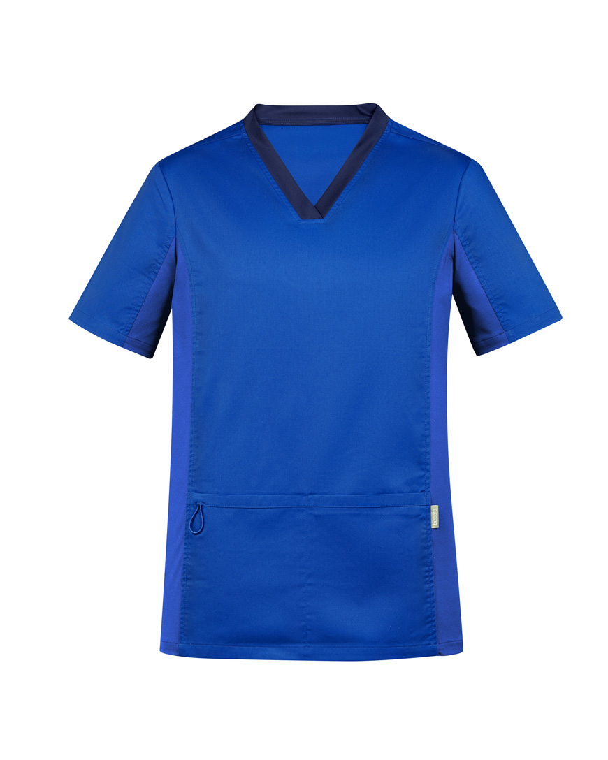 Mens Riley V-Neck Scrub Top