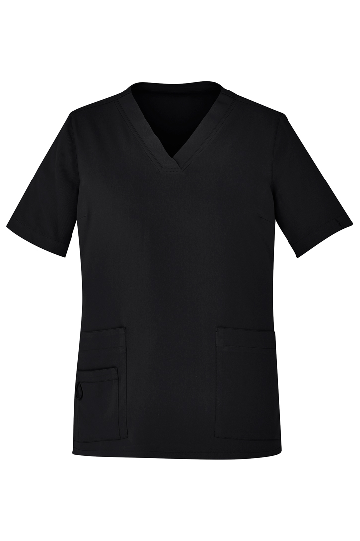Womens Avery Easy Fit V-Neck Scrub Top
