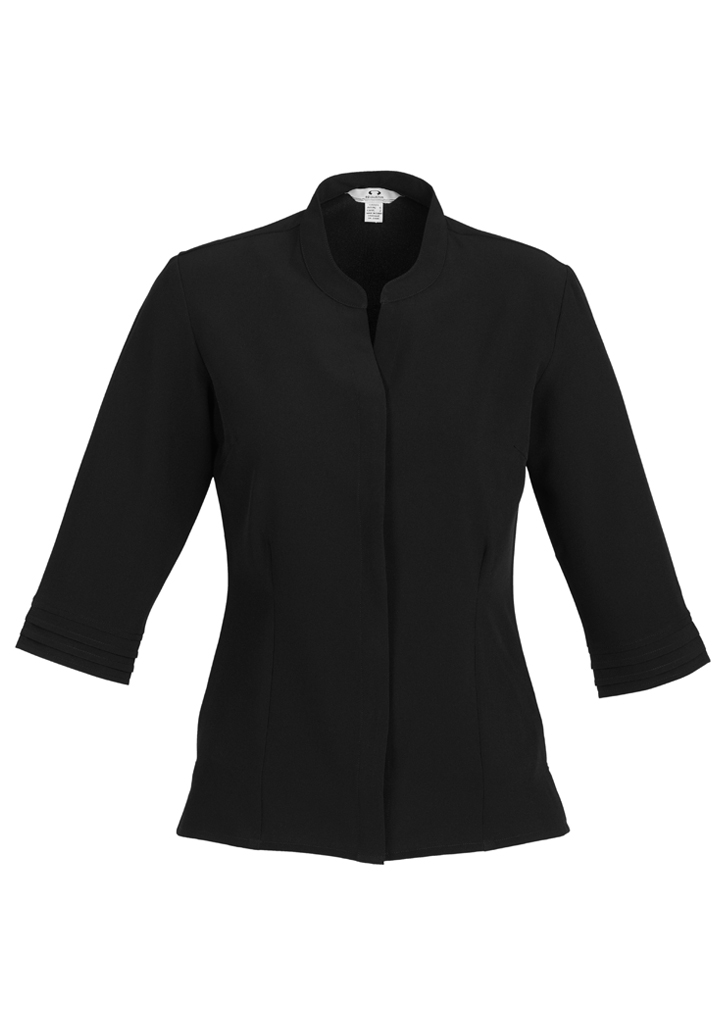 Ladies Quay 3/4 Sleeve Shirt