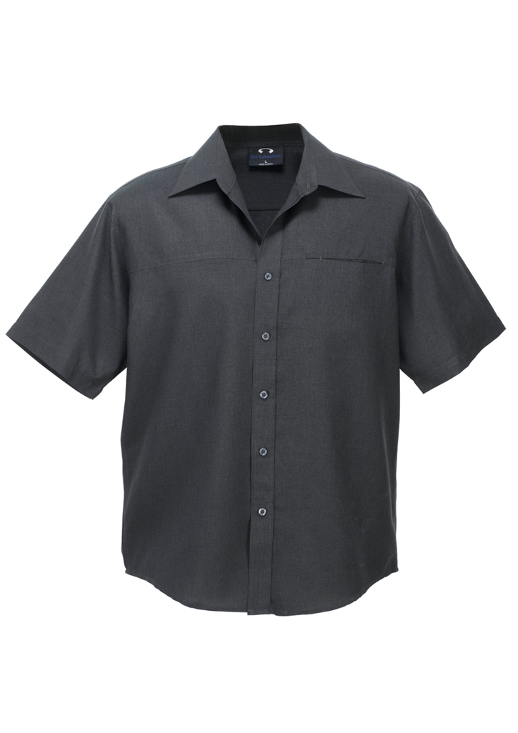 Mens Plain Oasis Short Sleeve Shirt
