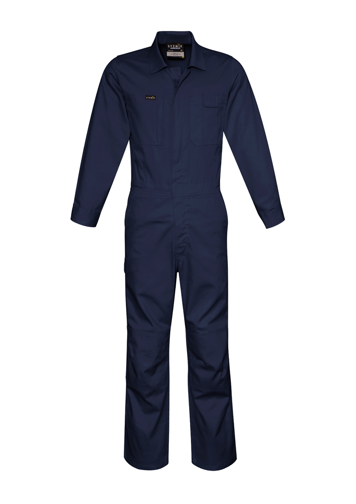 Mens lightweight cotton drill overall