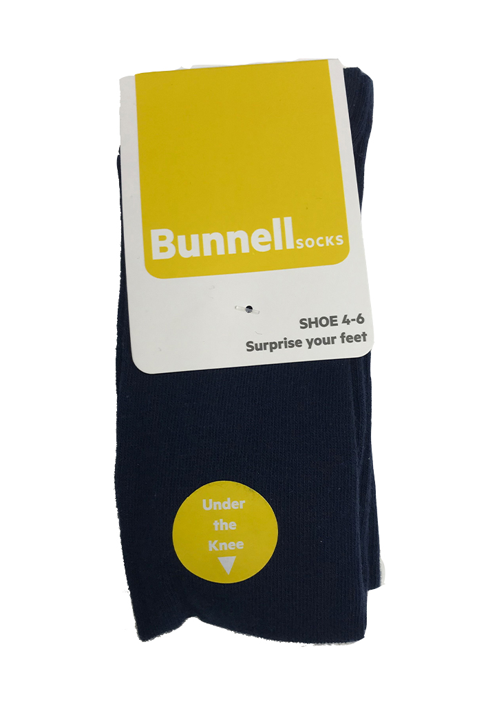 Bunnell Under The Knee Sock (3 pack) - Navy