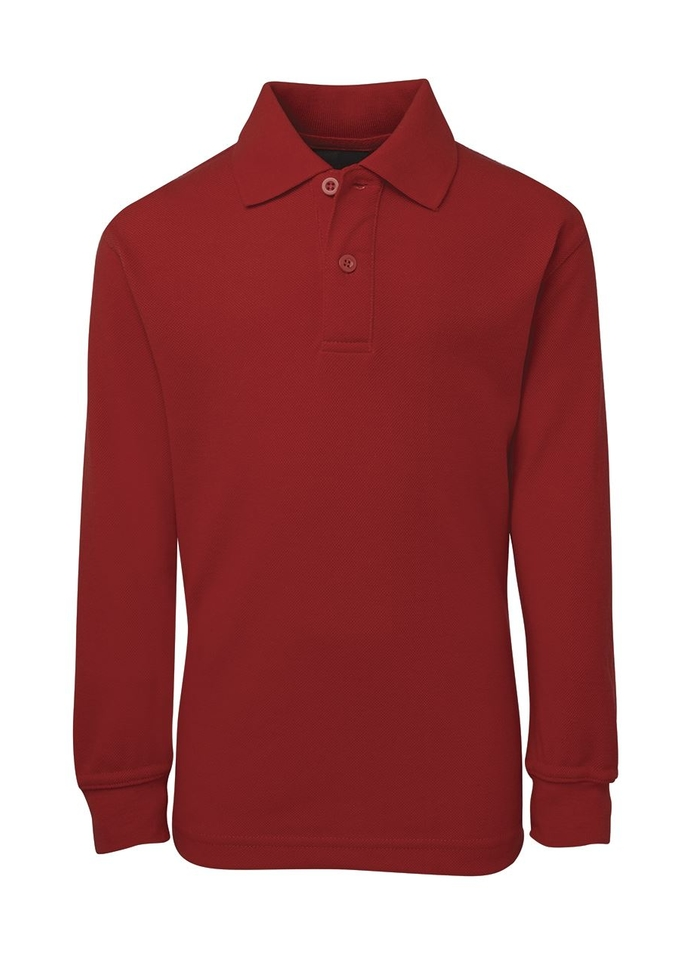 JB's KIDS L/S 210 POLO Red 10