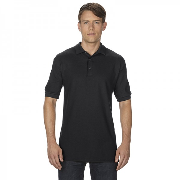 Adult Dbl Pique Sport Polo
