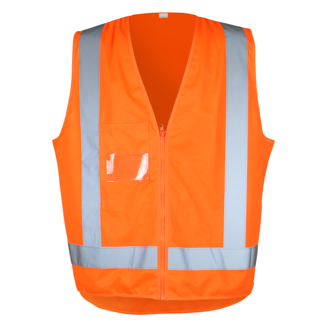 Work-Guard Taped Hi Vis Safety Vest