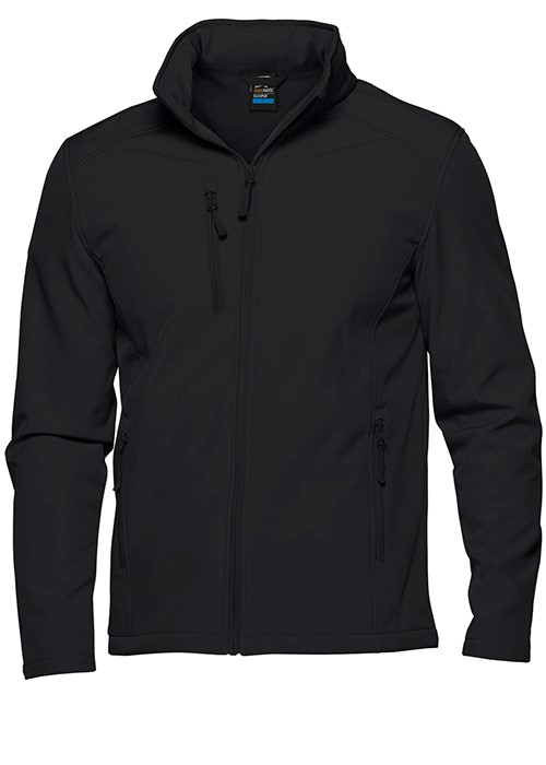 Mens Olympus Softshell Jacket Black 2XL