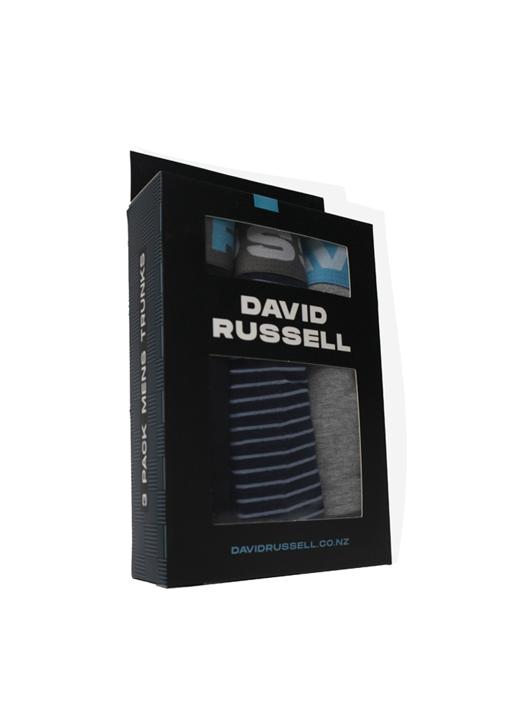 David Russell Trunks 3 Pack